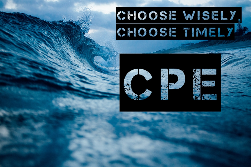 Choosing wisely and timely: annual CPEs